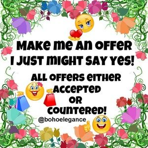 Dresses & Skirts - Make Me An Offer! I Just Might Say Yes!